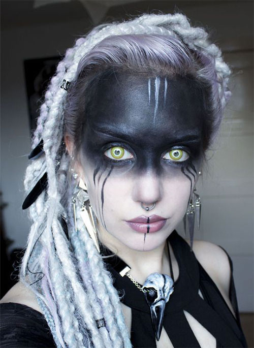 Witch-Halloween-Make-Up-Looks-2020-11