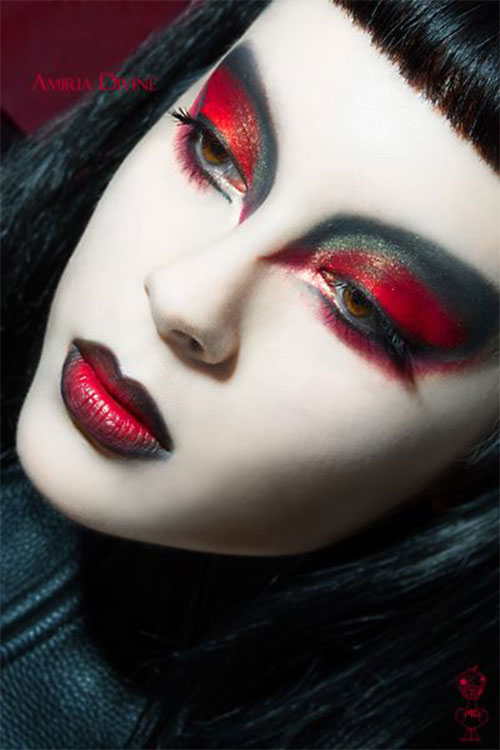 Witch-Halloween-Make-Up-Looks-2020-16