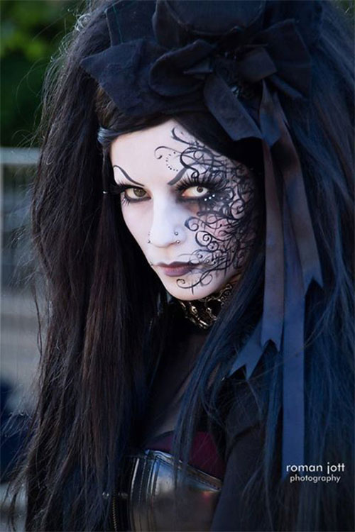 Witch-Halloween-Make-Up-Looks-2020-8