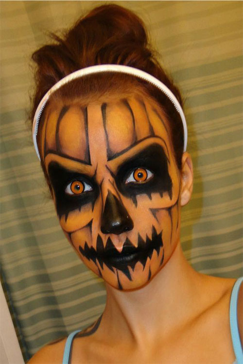 15-Scary-Pumpkin-Makeup-Looks-For-Halloween-2020-11