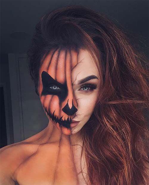 15-Scary-Pumpkin-Makeup-Looks-For-Halloween-2020-13