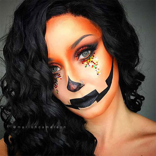 15-Scary-Pumpkin-Makeup-Looks-For-Halloween-2020-2