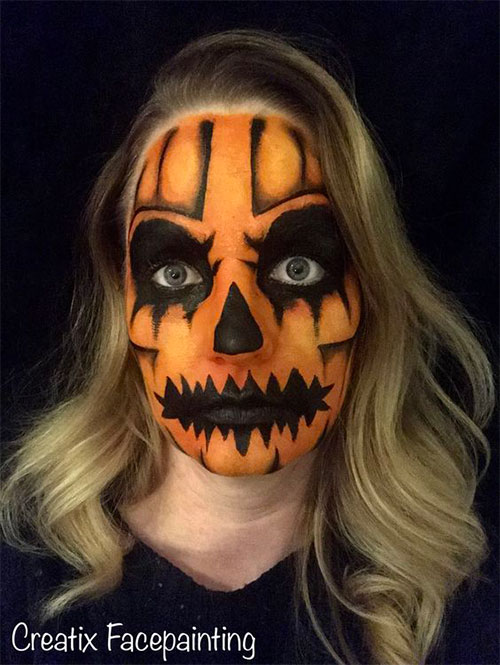 15-Scary-Pumpkin-Makeup-Looks-For-Halloween-2020-3