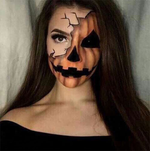 15-Scary-Pumpkin-Makeup-Looks-For-Halloween-2020-4