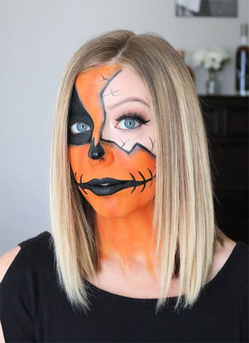 15-Scary-Pumpkin-Makeup-Looks-For-Halloween-2020-5