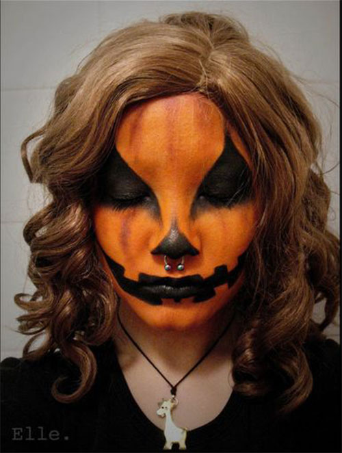 15-Scary-Pumpkin-Makeup-Looks-For-Halloween-2020-7