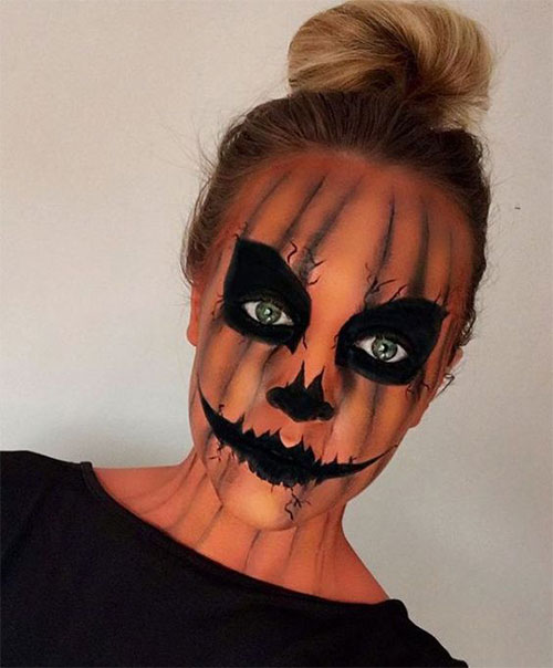 15-Scary-Pumpkin-Makeup-Looks-For-Halloween-2020-8