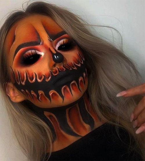 15-Scary-Pumpkin-Makeup-Looks-For-Halloween-2020-9