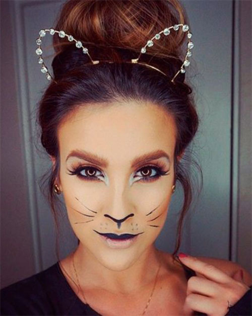 Halloween-Cat-Face-Makeup-Ideas-2020-10