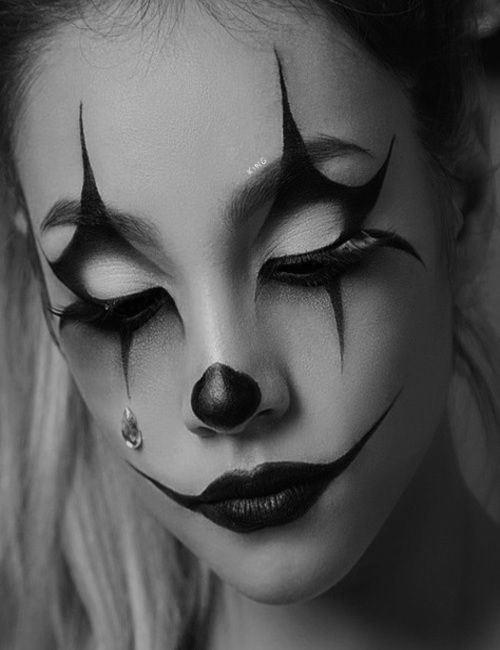 Halloween-Clown-Makeup-Looks-Ideas-2020-3