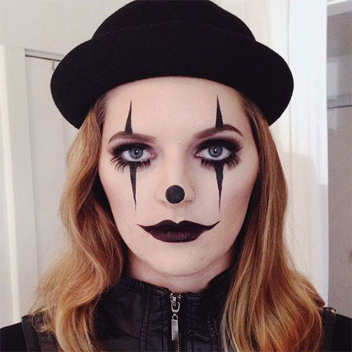Halloween-Clown-Makeup-Looks-Ideas-2020-6