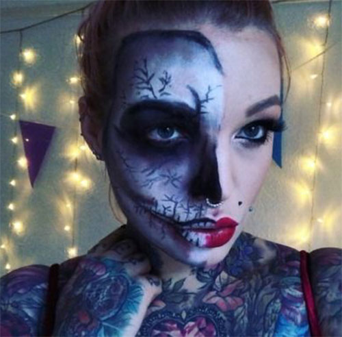 Scary-Halloween-Makeup-Looks-Ideas-2020-1