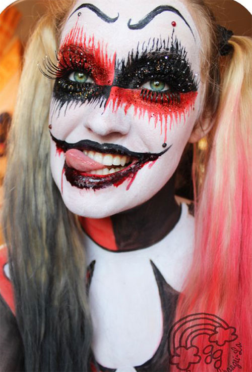 Scary-Halloween-Makeup-Looks-Ideas-2020-2