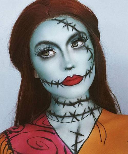 Scary-Halloween-Makeup-Looks-Ideas-2020-4