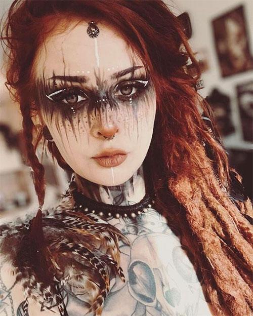 Scary-Vampire-Makeup-Looks-Ideas-2020-4