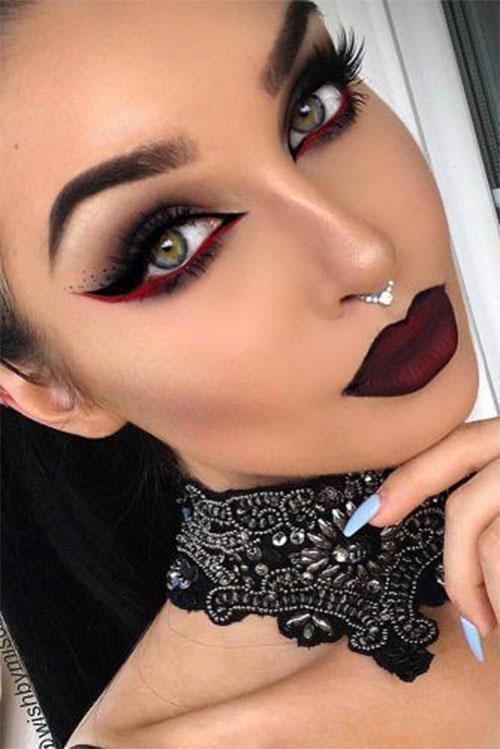 Scary-Vampire-Makeup-Looks-Ideas-2020-8