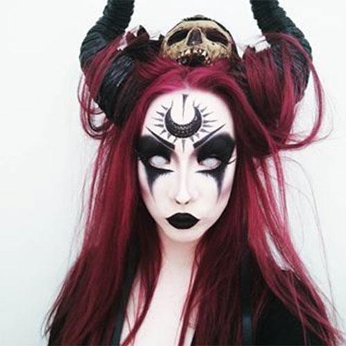 Scary-Vampire-Makeup-Looks-Ideas-2020-9