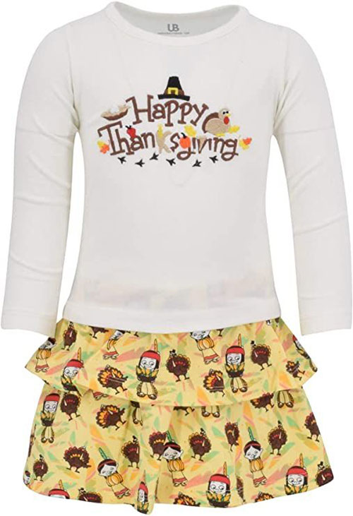 Best-Happy-Thanksgiving-Outfit-For-Kids-Girls-2020-10