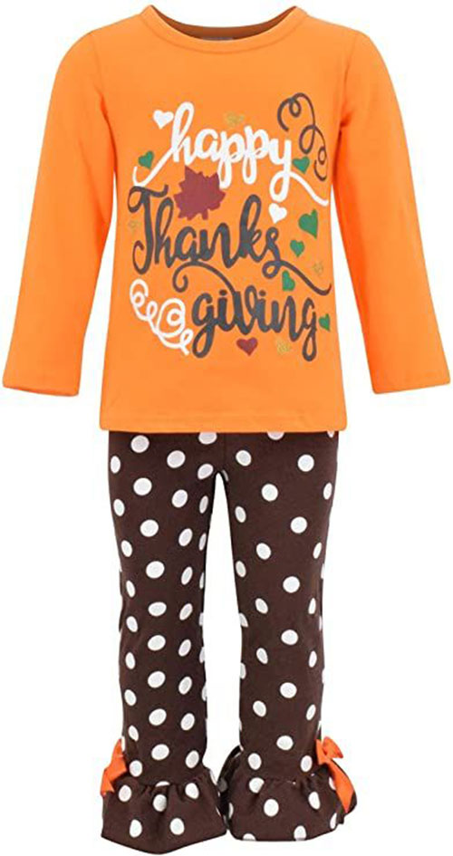 Best-Happy-Thanksgiving-Outfit-For-Kids-Girls-2020-11