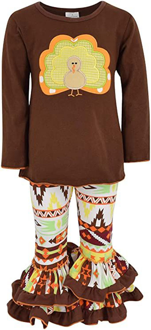 Best-Happy-Thanksgiving-Outfit-For-Kids-Girls-2020-14