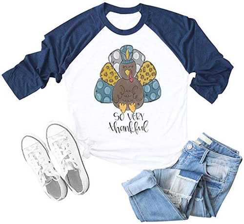 Happy-Thanksgiving-T shirts-For-Girls-Women-2020-13