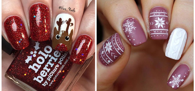 20-Christmas-Nail-Art-Ideas-2020-Xmas-Nails-F