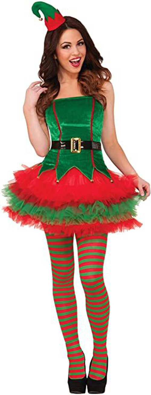 Christmas-Elf-Costumes-Outfits-For-Kids-Adults-2020-11
