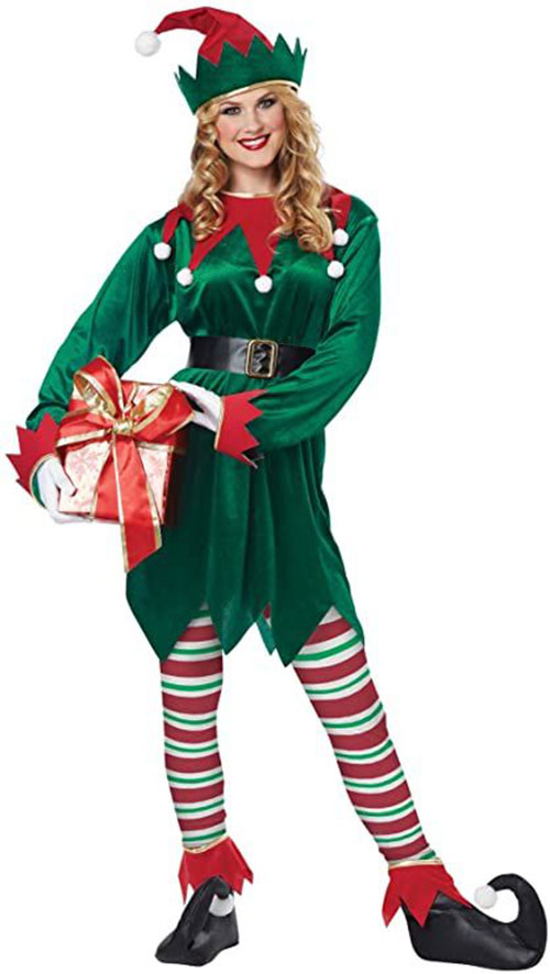 Christmas-Elf-Costumes-Outfits-For-Kids-Adults-2020-12