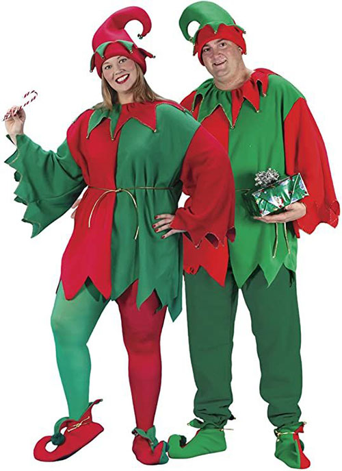 Christmas-Elf-Costumes-Outfits-For-Kids-Adults-2020-14