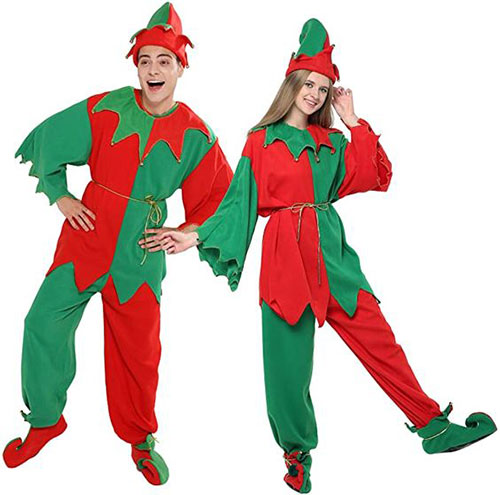 Christmas-Elf-Costumes-Outfits-For-Kids-Adults-2020-15