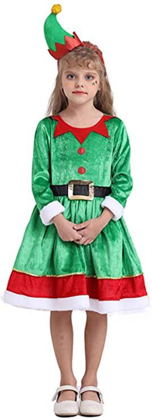 Christmas-Elf-Costumes-Outfits-For-Kids-Adults-2020-5