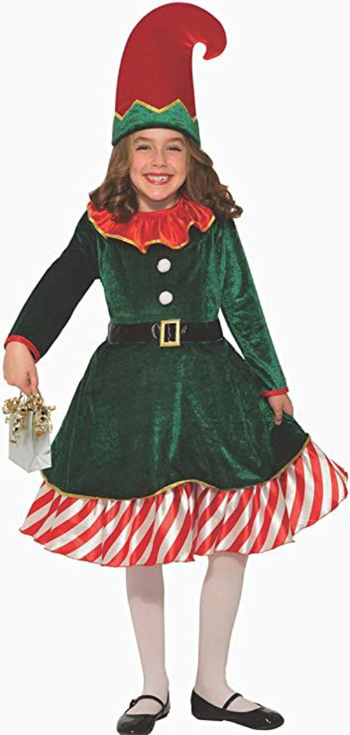 Christmas-Elf-Costumes-Outfits-For-Kids-Adults-2020-6