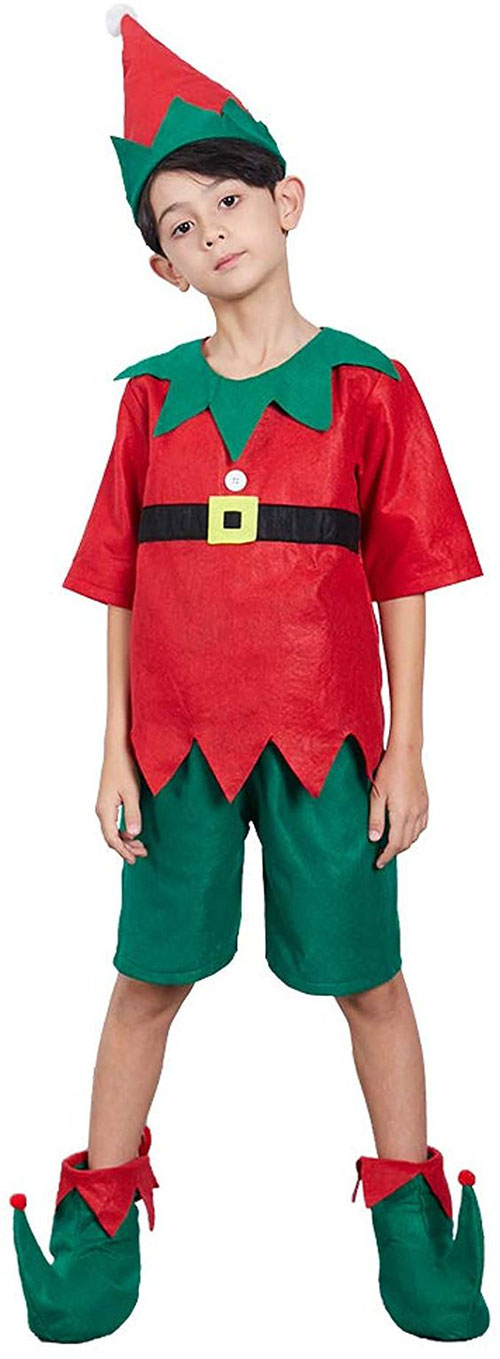 Christmas-Elf-Costumes-Outfits-For-Kids-Adults-2020-8