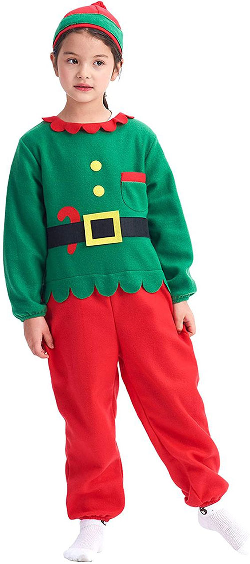 Christmas-Elf-Costumes-Outfits-For-Kids-Adults-2020-9
