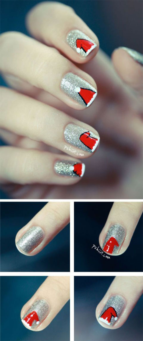 Christmas-Nail-Art-Tutorials-For-Beginners-Learners-2020-10