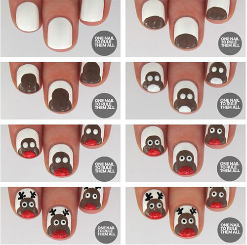 Christmas-Nail-Art-Tutorials-For-Beginners-Learners-2020-6