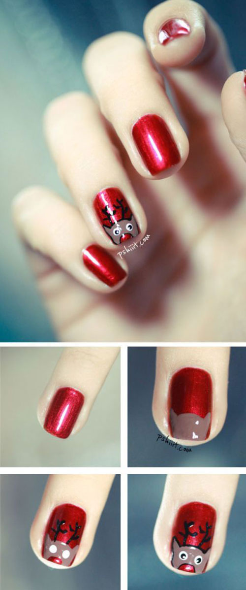 Christmas-Nail-Art-Tutorials-For-Beginners-Learners-2020-7