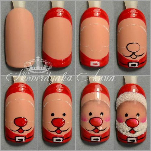 Christmas-Nail-Art-Tutorials-For-Beginners-Learners-2020-8