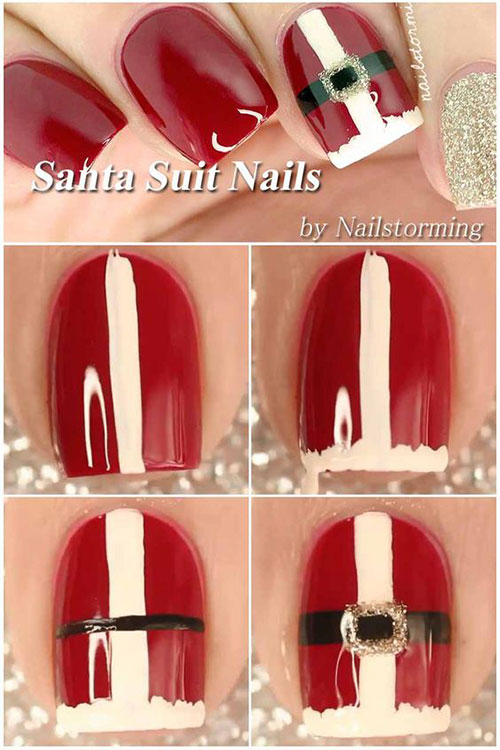 Christmas-Nail-Art-Tutorials-For-Beginners-Learners-2020-9
