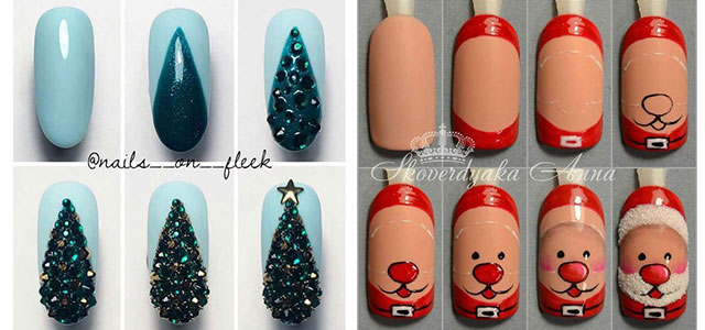 Christmas-Nail-Art-Tutorials-For-Beginners-Learners-2020-F