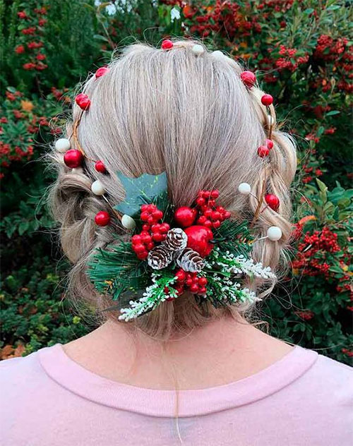 Christmas-Themed-Hairstyle-Ideas-For-Short-Long-Hair-2020-11