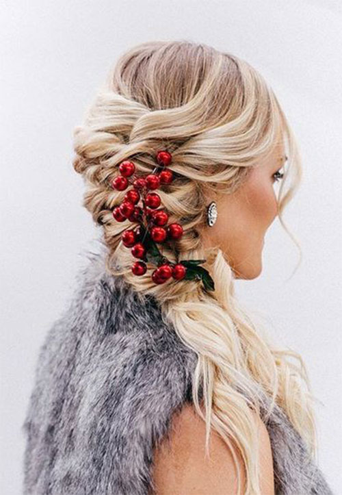 Christmas-Themed-Hairstyle-Ideas-For-Short-Long-Hair-2020-2