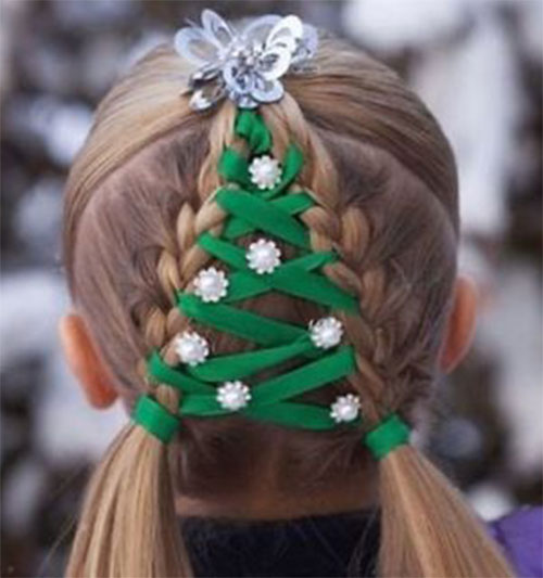 Christmas-Themed-Hairstyle-Ideas-For-Short-Long-Hair-2020-3
