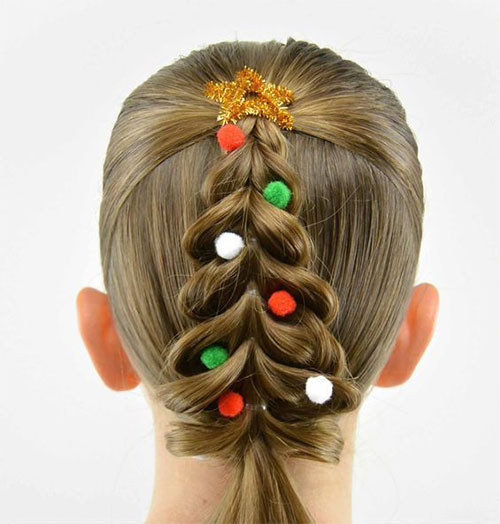 Christmas-Themed-Hairstyle-Ideas-For-Short-Long-Hair-2020-4