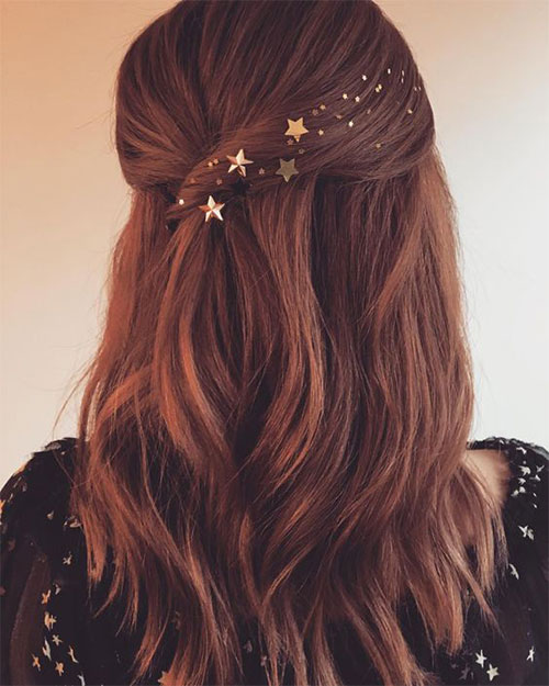 Christmas-Themed-Hairstyle-Ideas-For-Short-Long-Hair-2020-6