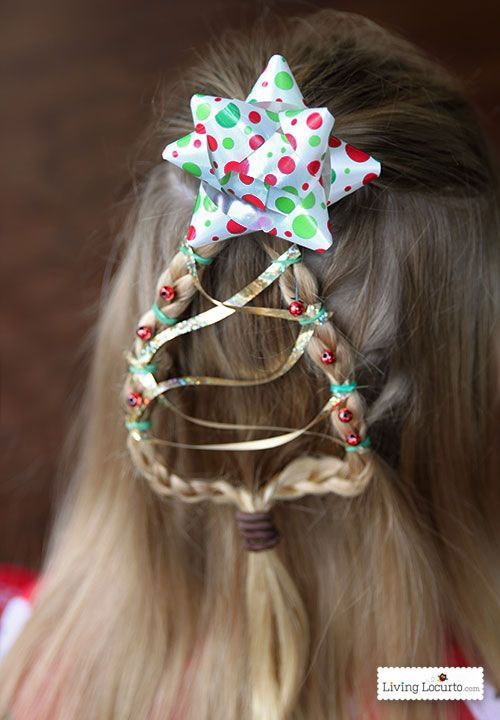 Christmas-Themed-Hairstyle-Ideas-For-Short-Long-Hair-2020-7