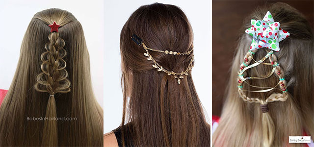 Christmas-Themed-Hairstyle-Ideas-For-Short-Long-Hair-2020-F