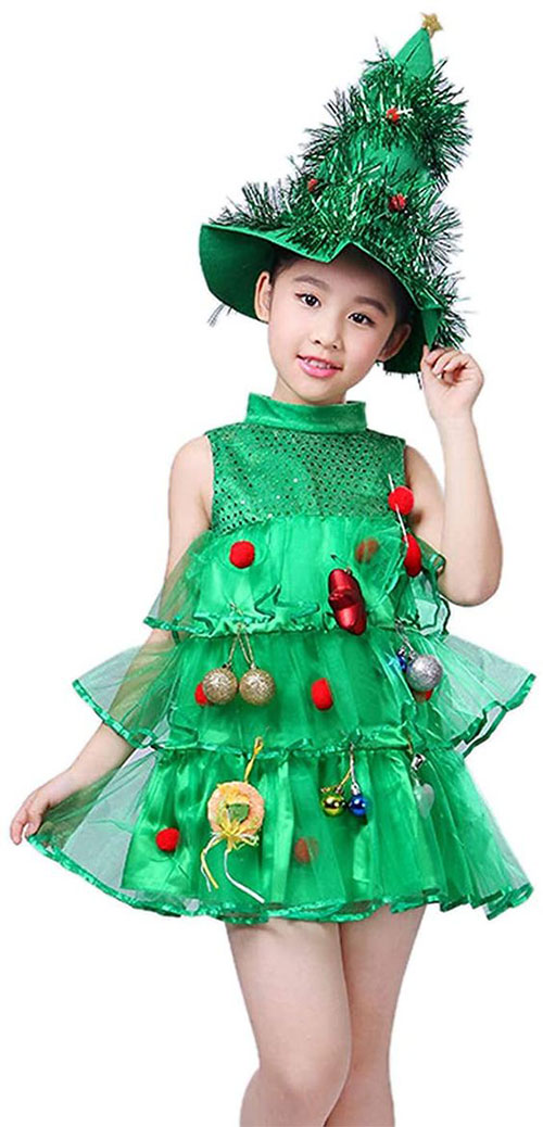 Christmas-Tree-Costumes-Outfits-For-Kids-Adults-2020-4