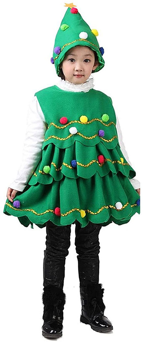 Christmas-Tree-Costumes-Outfits-For-Kids-Adults-2020-6