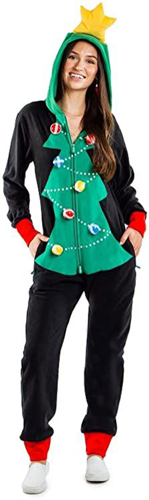 Christmas-Tree-Costumes-Outfits-For-Kids-Adults-2020-8